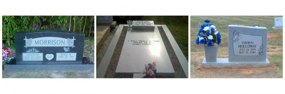 Preserve your loved one's memory in a memorial that will withstand the test of time with our granite memorials.